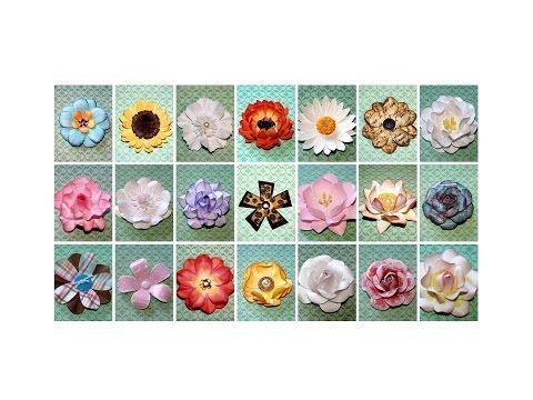 Paper flowers tutorial youtube roselline al minuto 1710 vdeos paper flowers tutorial youtube roselline al minuto 1710 mightylinksfo