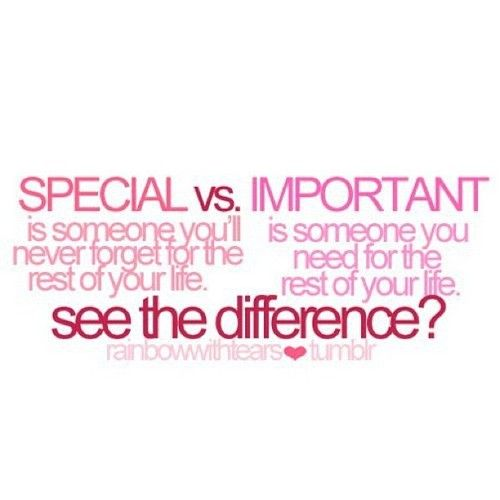 Guess I\'m not as special or important as I thought I was ...