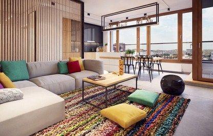Desain interior apartemen minimalis modern colorful also ideas for rh pinterest