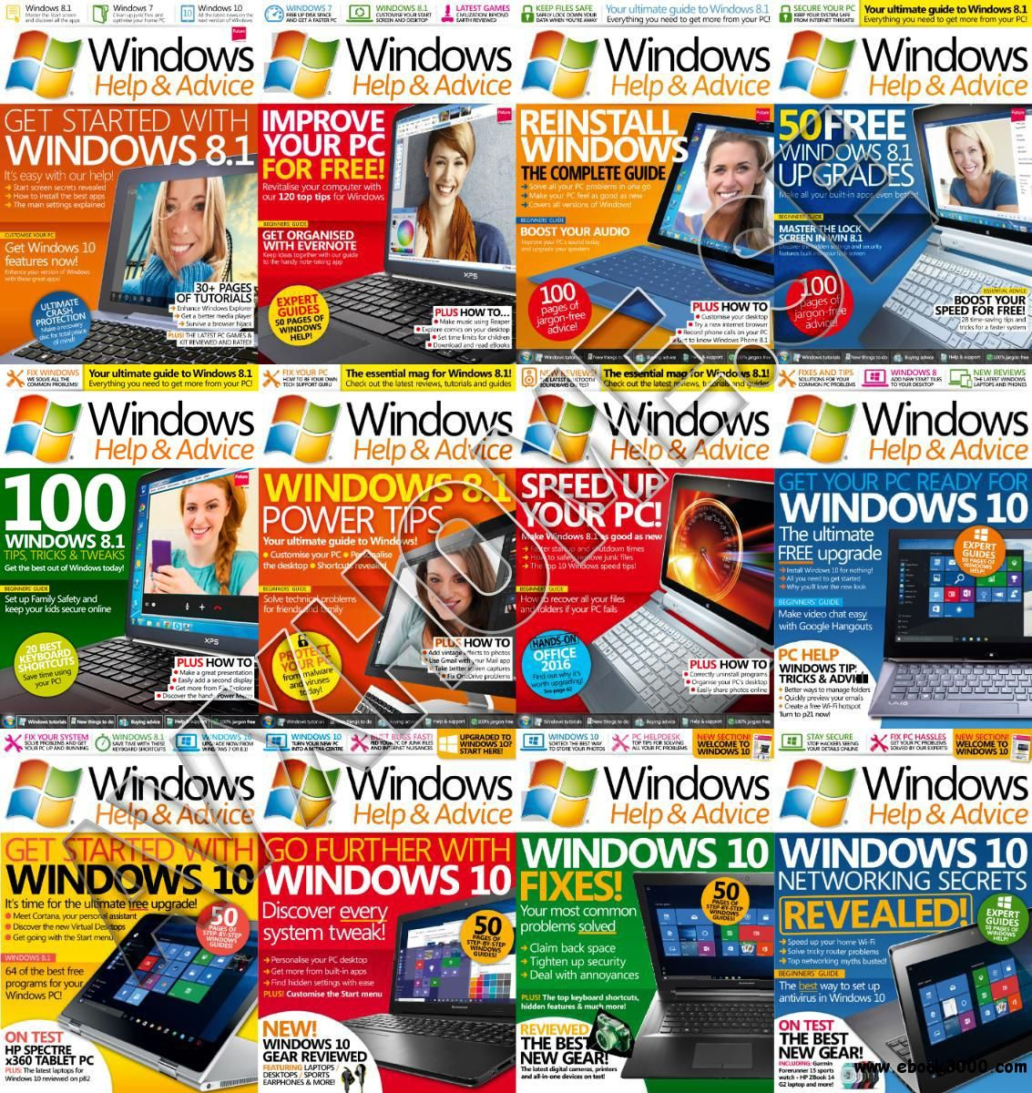 Windows Help & Advice 2015 Full Year Issues Collection