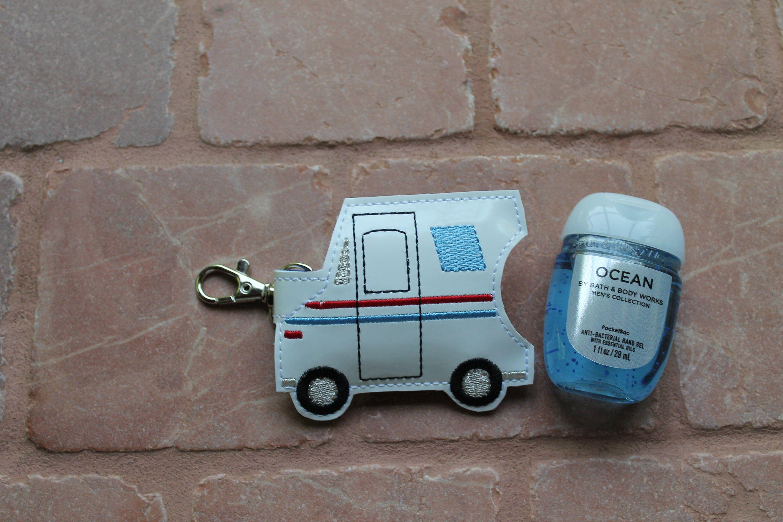 Mail Truck Hand Sanitizer Holder