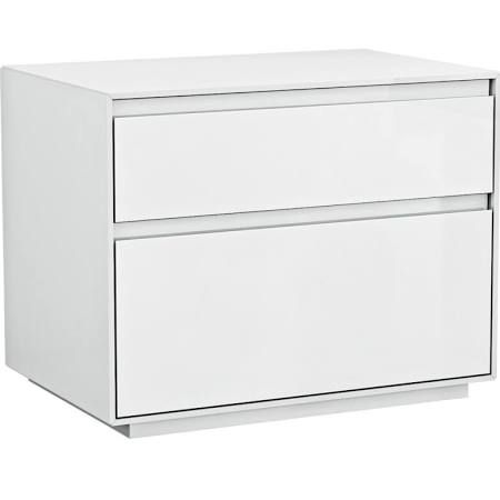 Modern White Lacquer Nightstand   Google Search