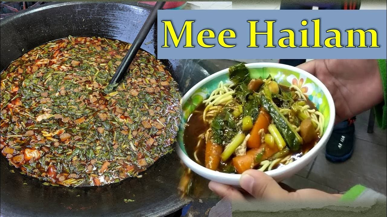 Resepi Mee Hailam Cooked and Tested by Students Step