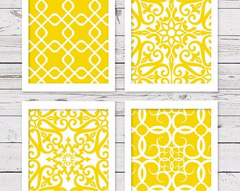 Beautiful Yellow Art, PRINTABLE Art, Yellow Wall Art, INSTANT DOWNLOAD, Printable  Artwork,