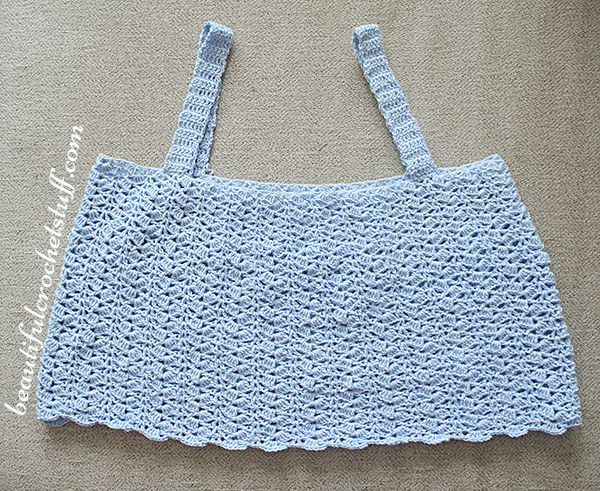 Crochet Crop Top Free Pattern   Beautiful Crochet Stuff   Crochet ...