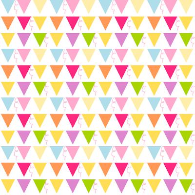 free digital party bunting scrapbooking paper - ausdruckbares Geschenkpapier - freebie   MeinLilaPark – DIY printables and downloads