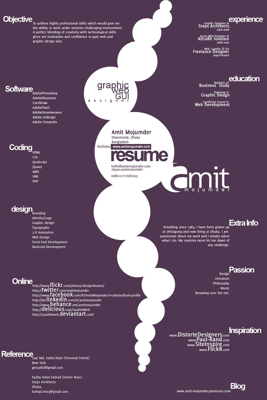 Resume Designs Graphic Design Resume Resume Design Creative