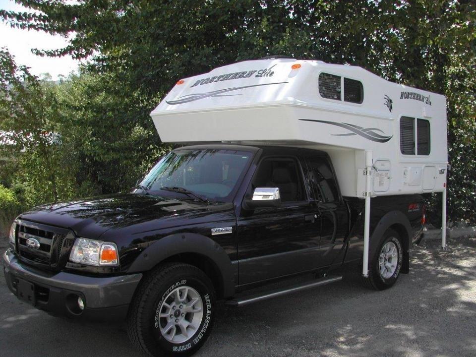 6 39 10 ultra lite truck camper camping pinterest truck camper. Black Bedroom Furniture Sets. Home Design Ideas