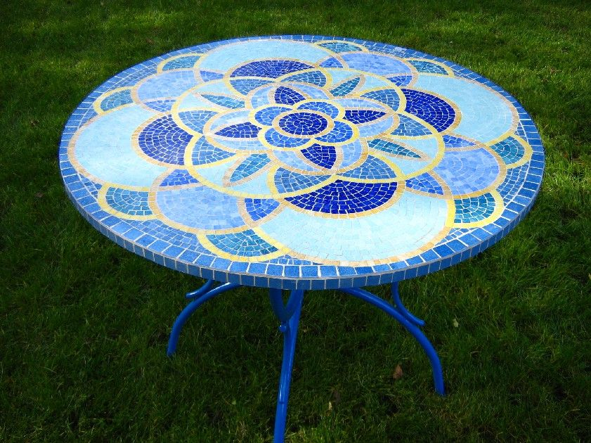 table mosaique masa tabure kanape mosaic mosaic diy et stained glass