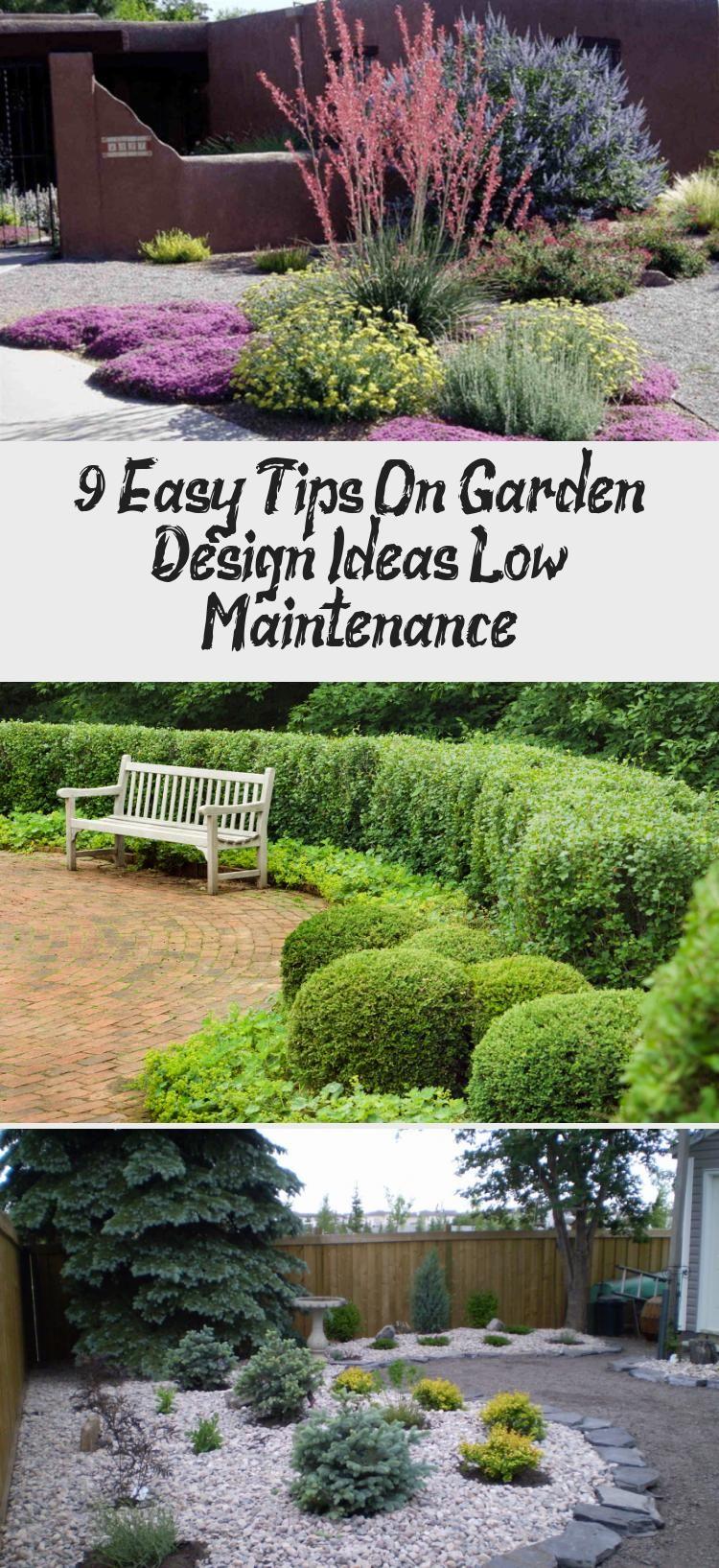 9 Easy Tips On Garden Design Ideas Low Maintenance | Low ...