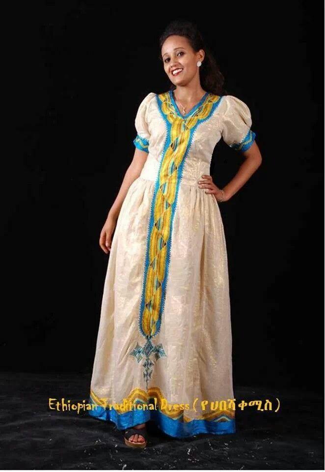 Ethiopian traditional dress www.ethiopianclothing.net/shops | Habesh ...