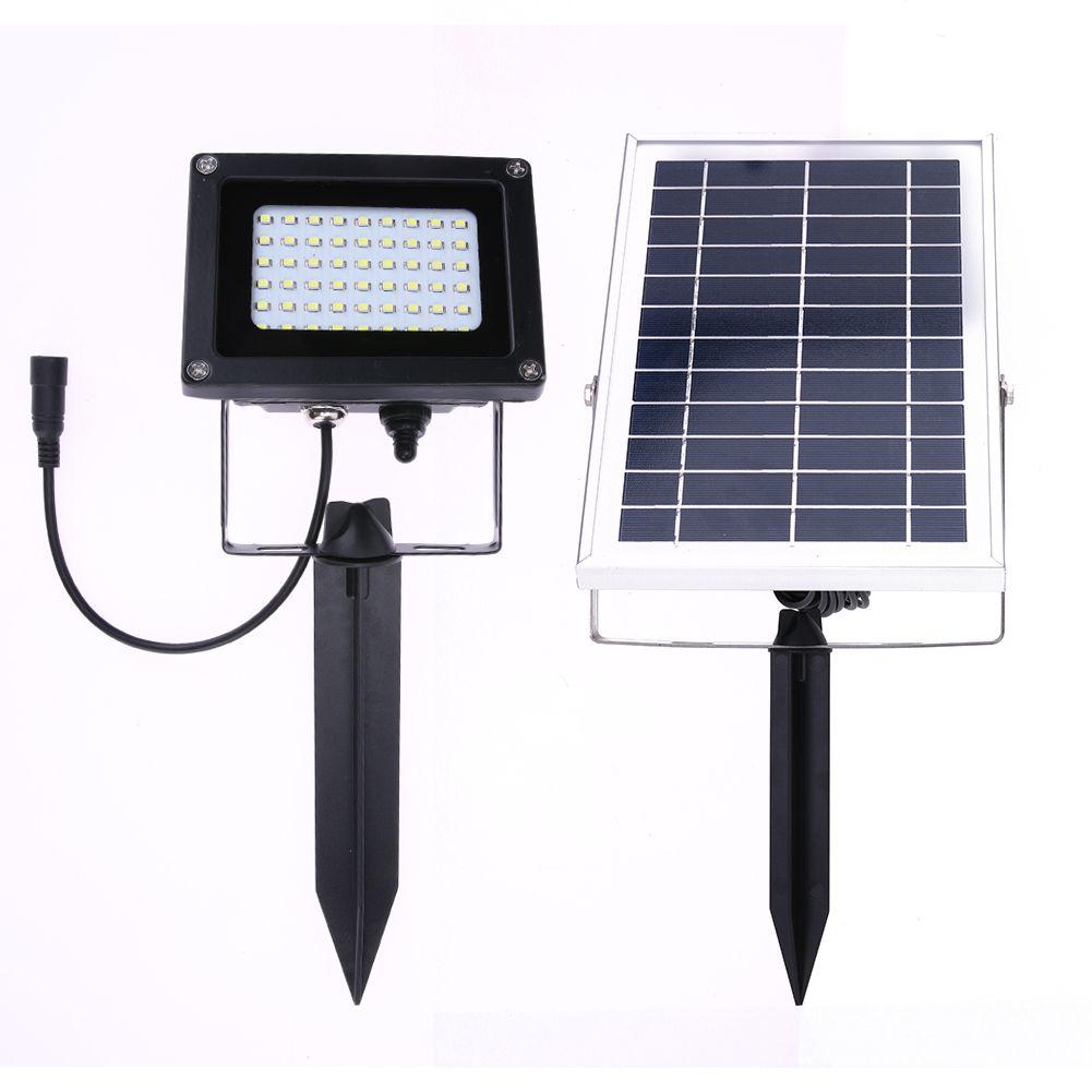 Powered By Solar Energy In The Daytime This Solar Powered Outdoor Led Garden Lights 60 Leds Pir Body Motion Sensor Solar Floodlights Spotlight Is Really An Ene