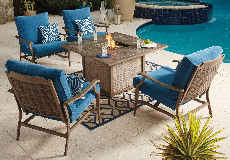 Paradise Trail Outdoor Sofa With Cushion Ashley Furniture Homestore