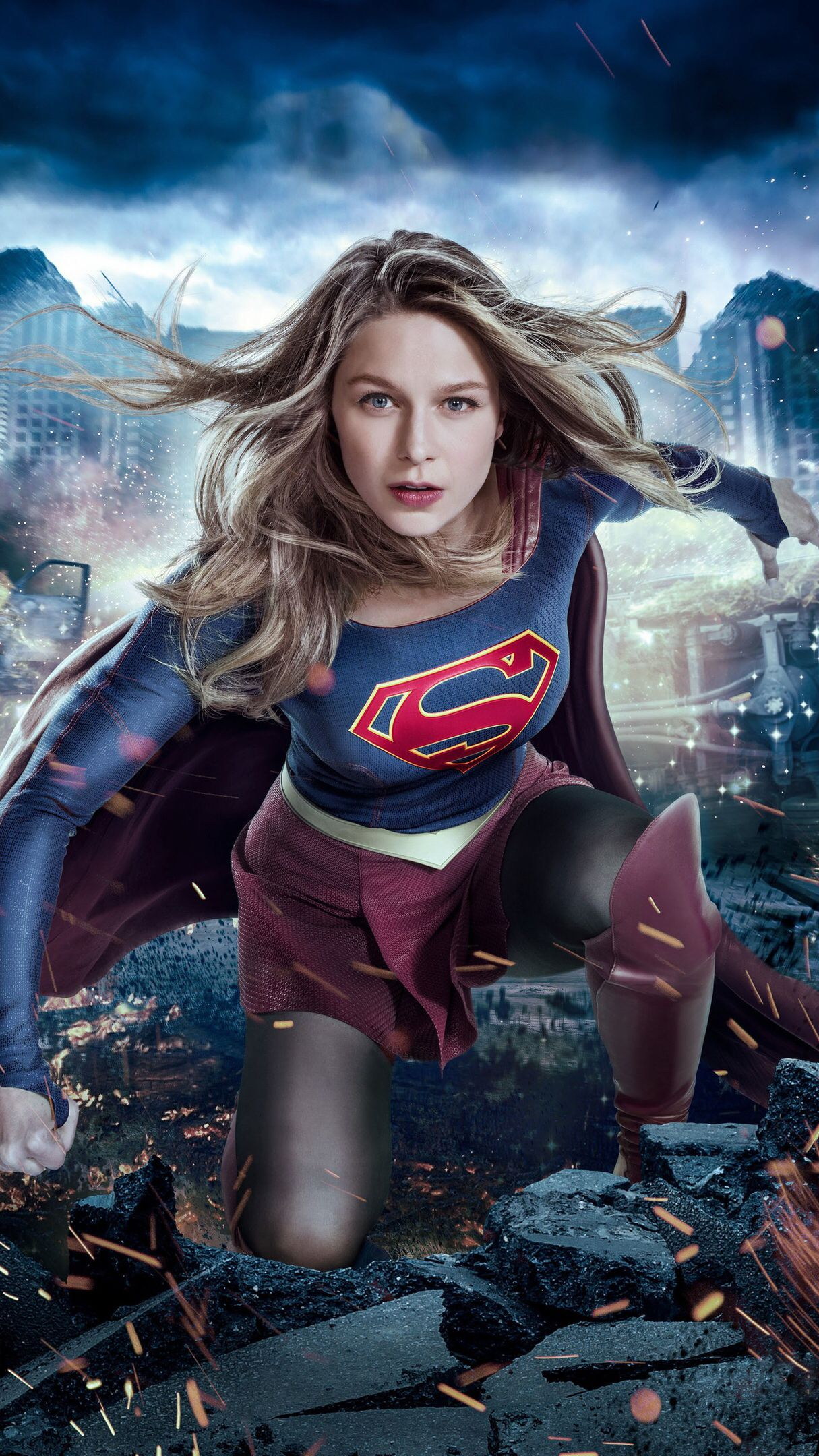 Imagem De Supergirl Por Angelica Lima Gomes Supergarota