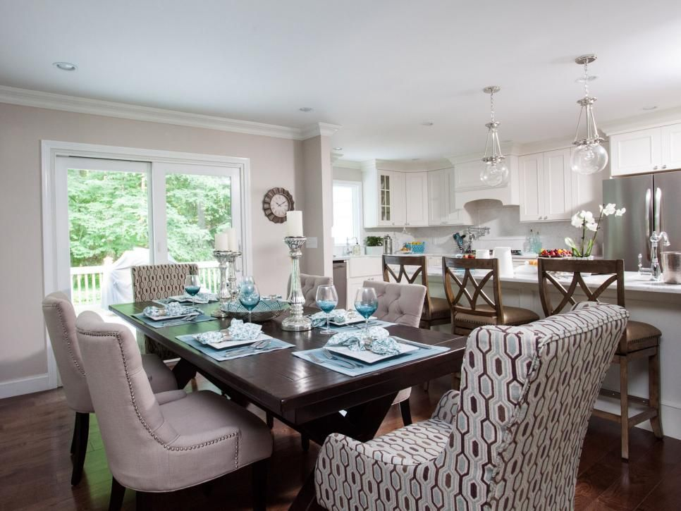 The property brothers tackle this modern rustic reno fit for Property brothers dining room designs