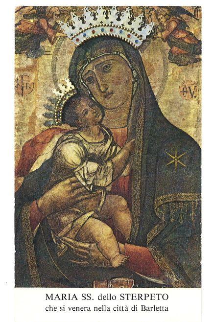 Madonna del Sterpeto, Barletta, dal ritrovamento dell'icona medievale nel casale dello Sterpeto.