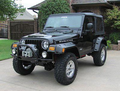 Ebay Jeep Wrangler Rubicon Tj 2004 Jeep Rubicon Tj 4 X 4 Black