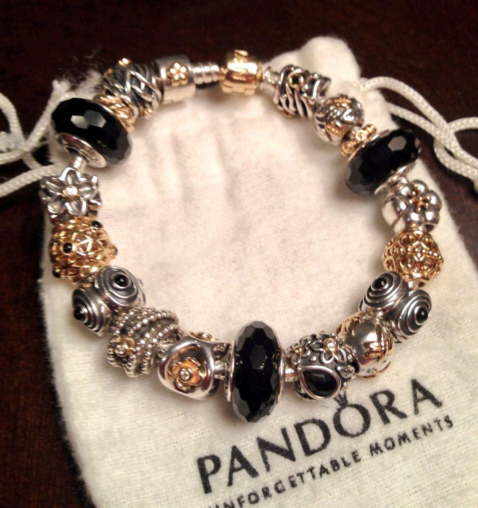 pandora bijoux or
