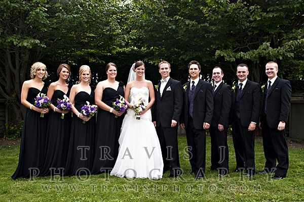 Love The Purple Black And Silver Together Great Combination Future Event Ideas Pinterest Wedding