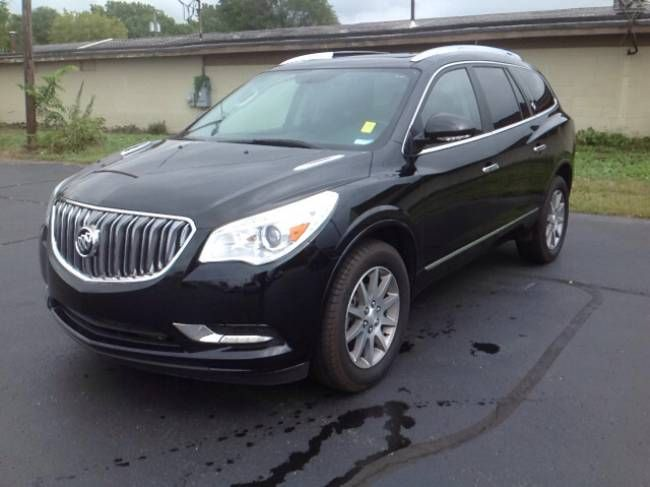 Used 2017 Buick Enclave Leather Suv Elkhart 3 6l V 6 Cyl 6 Speed Automatic All Wheel Drive Exterior Color Ebony Twilight Buick Enclave Buick Elkhart