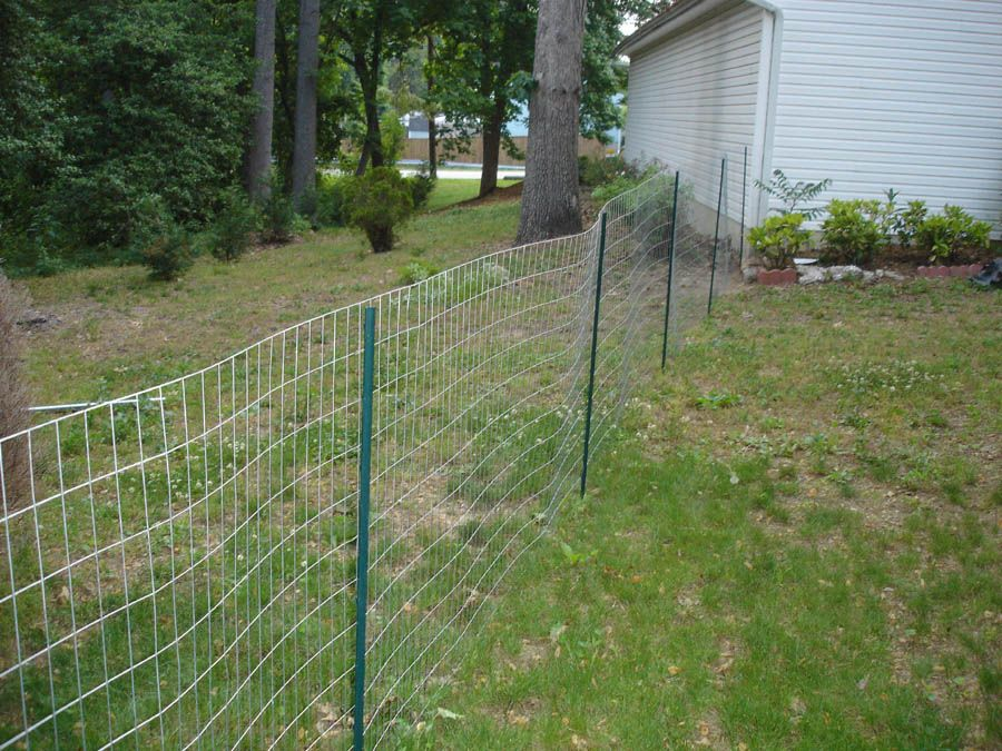 Make Temporary Fence For Dogs