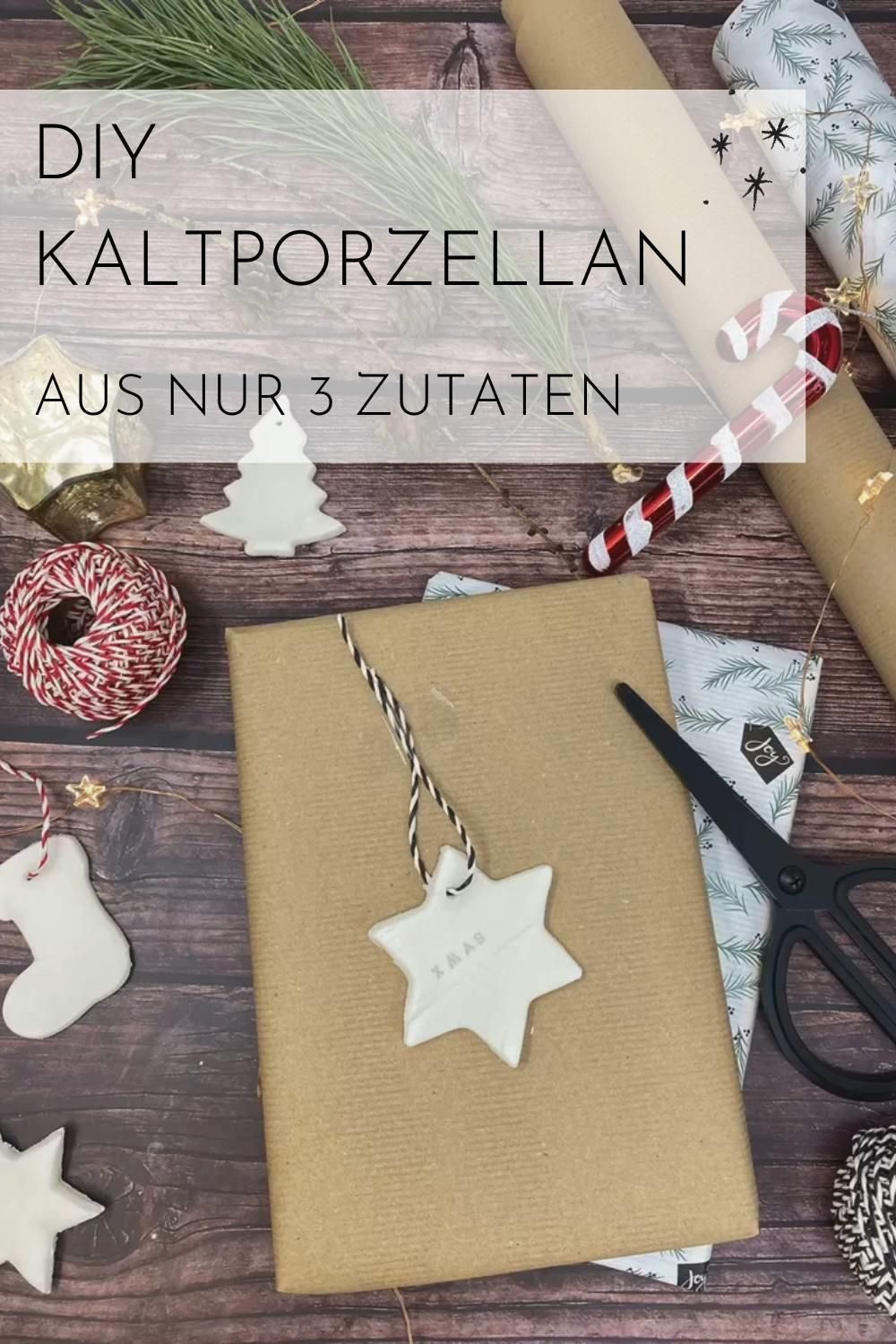 Photo of Kaltporzellan selber machen | DIY | Natron