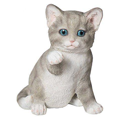 Tierfigur Katze H He 14 Cm Skulptur Deko Katze Garten