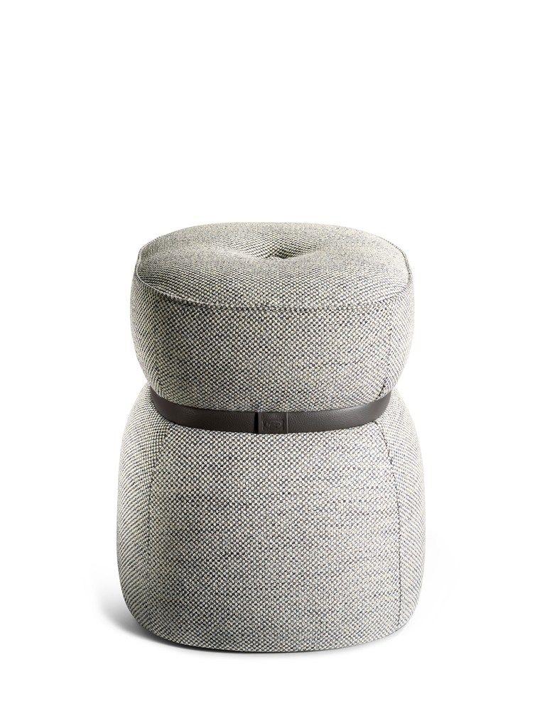 LEPLI Sgabello In Tessuto Collezione LA COLLEZIONE   Divani E Poltrone By  Poltrona Frau Design Kensaku