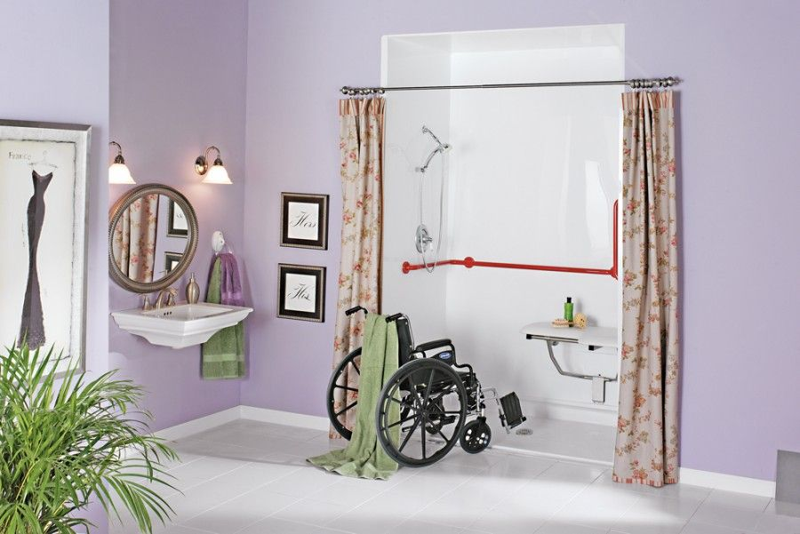 Merveilleux Bathroom Remodels For Handicapped | Bathroom Designs For Handicapped  Persons | Many Design