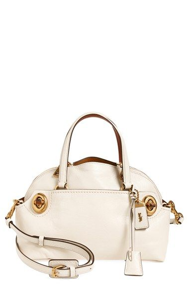 35cad1d2b75 COACH 1941 | 'Outlaw 36' Leather Satchel in Chalk available at #Nordstrom