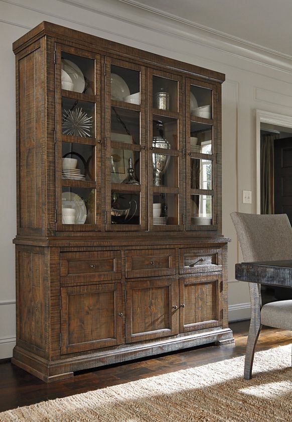 The Strumfeld Buffet & China Cabinet is storage that adds big ...