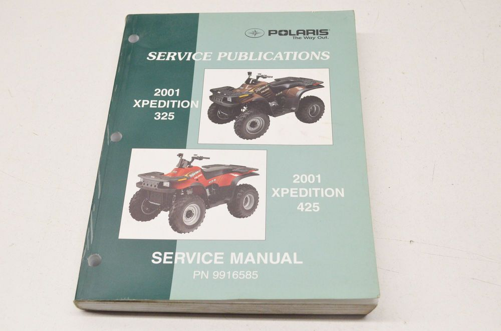 Oem Polaris Service Manual 01 Xpedition 325 425 Ebay Motors Parts Amp Accessories Manuals Amp Literature Ebay Manual Ebay Oem