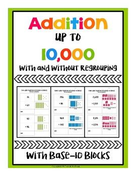Perfect For Math Centers Previewing Addition And Reviewing Addition This Activity Features Several Activity Pages Through Whi Teaching Math Math Centers Math