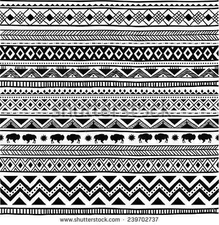 how to draw indian patterns