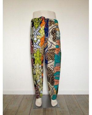 108f27bc50f4e Pantalon en Wax | Mode Homme Africain | N°5 | Robes | Pantalon ...