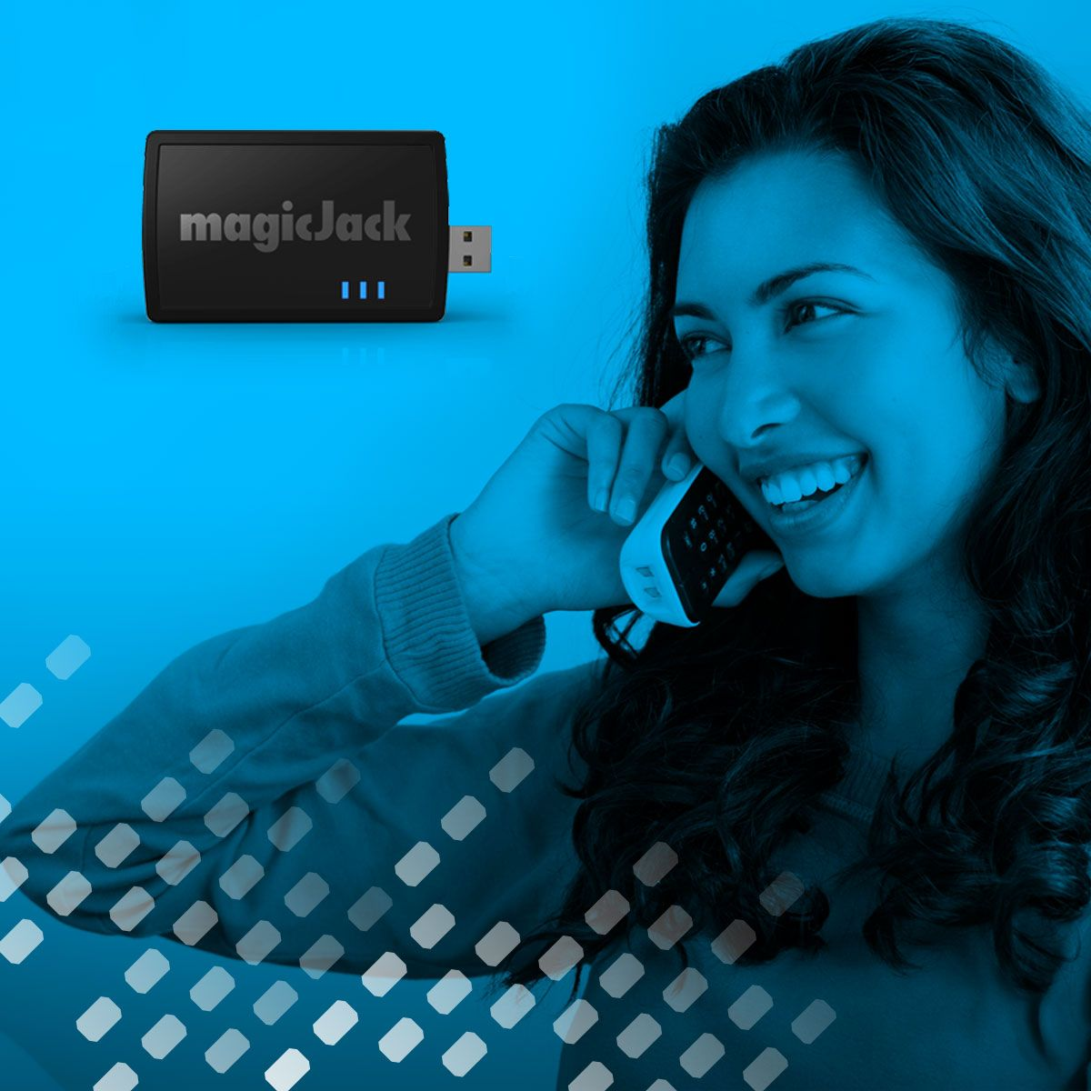 With a magicJack PLUS, you can make UNLIMITED local & long