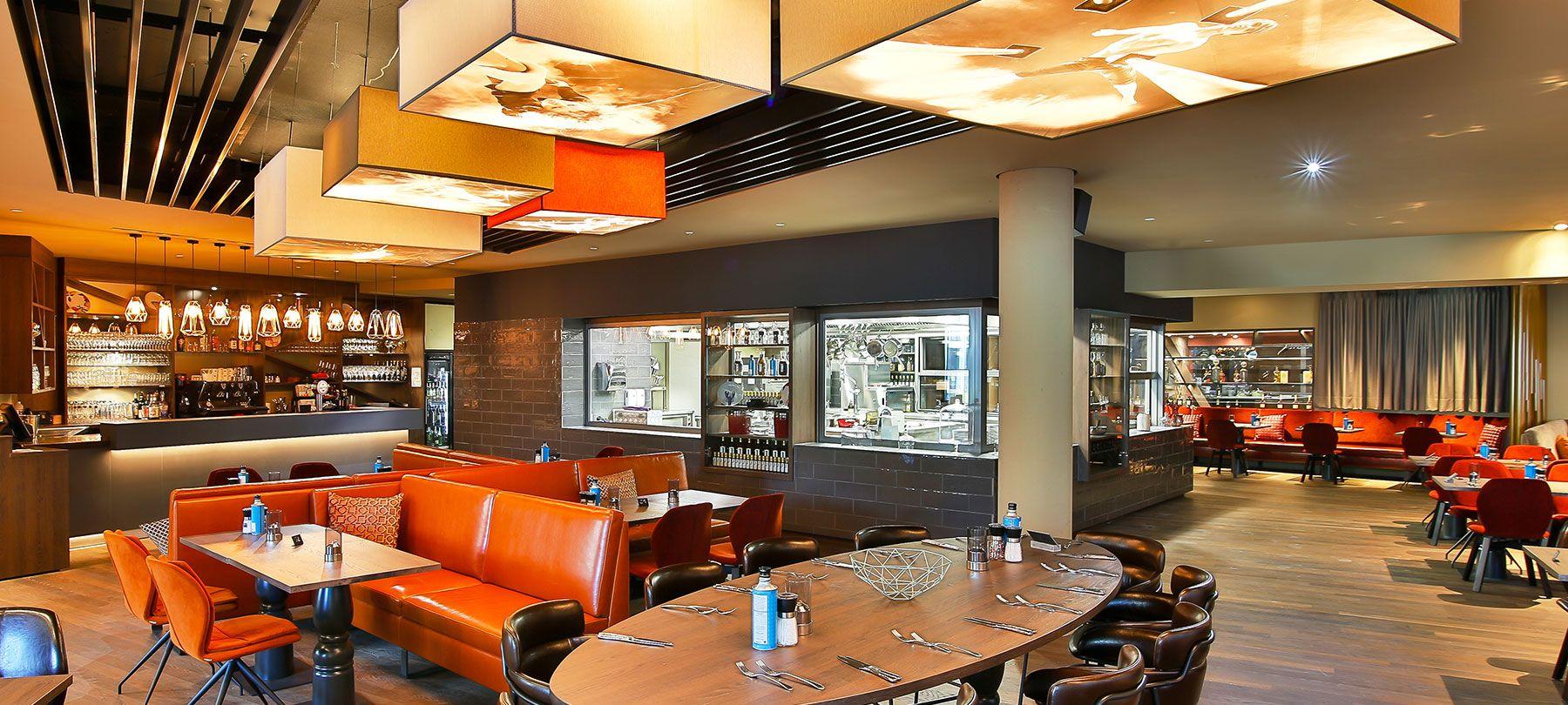 Restaurant_Bar  GOP Bonn Leander Restaurant Design by Kitzig Interior Design