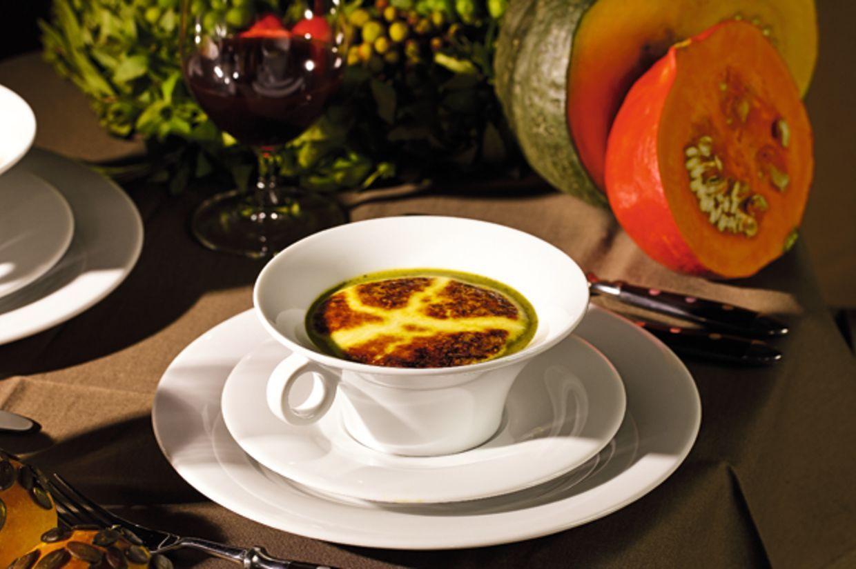 Überbackene Zucchettisuppe | Rezept | Überbacken ...