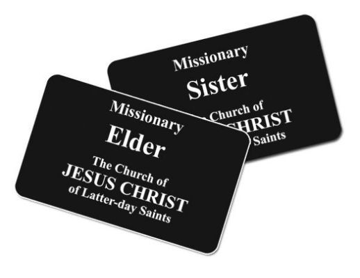 Lds Missionary Name Tag Font I7