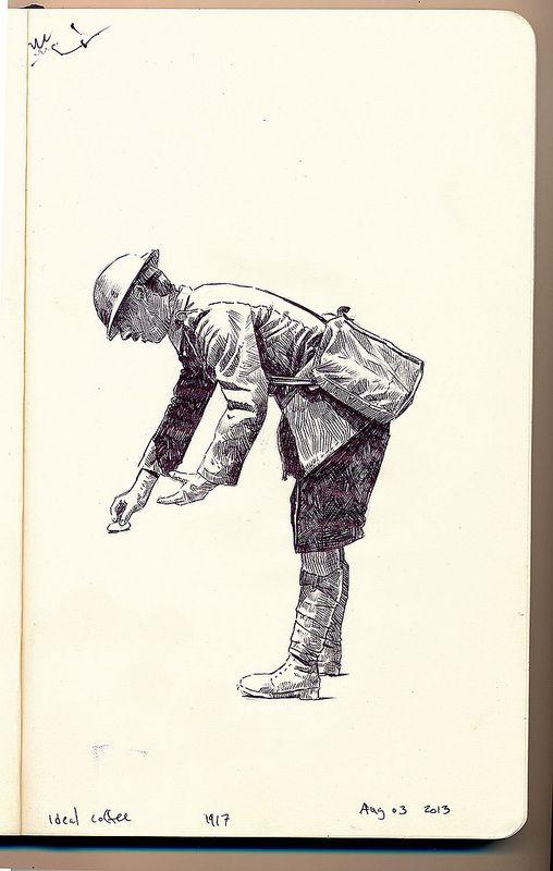 CEF soldier, 1917   Flickr - Photo Sharing!