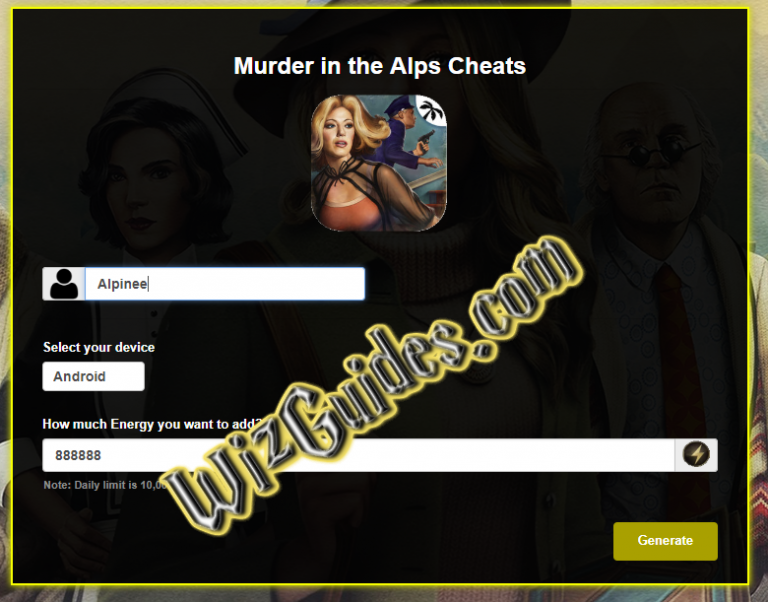 Pin On Murder In The Alps Cheats