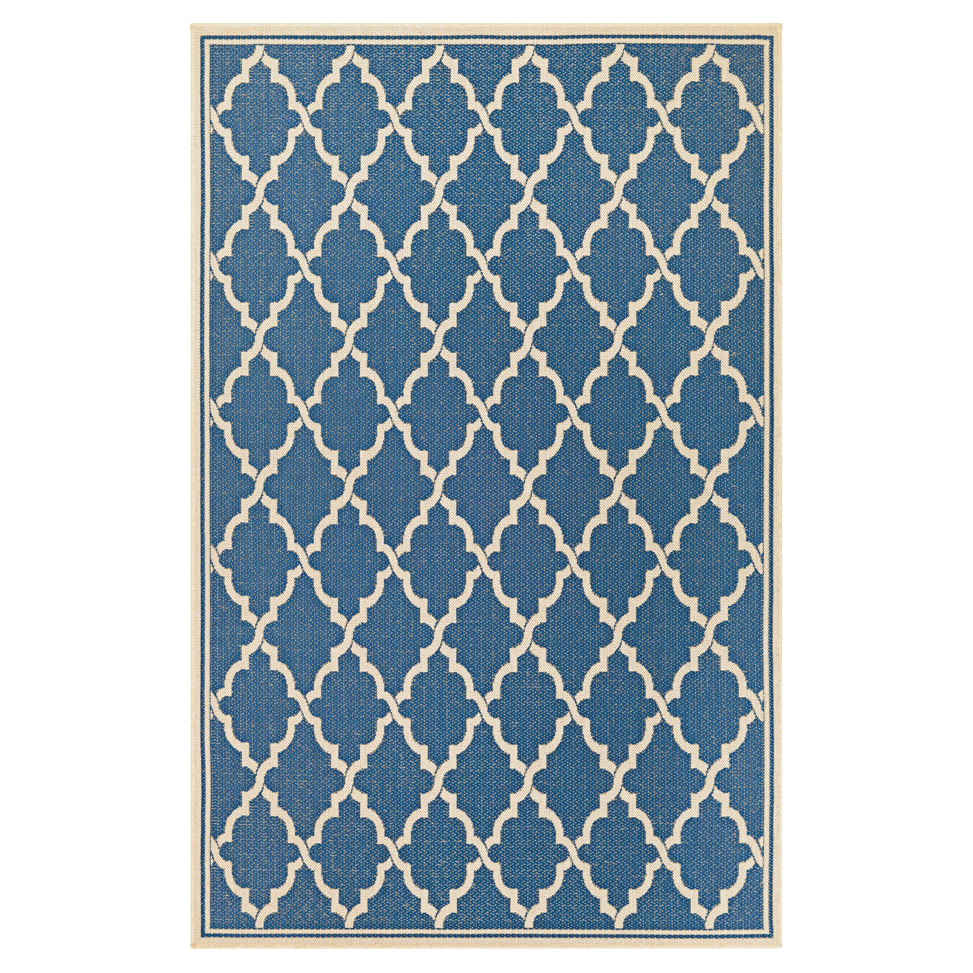 Couristan Monaco 788110 Ocean Port Indoor Outdoor Area Rug