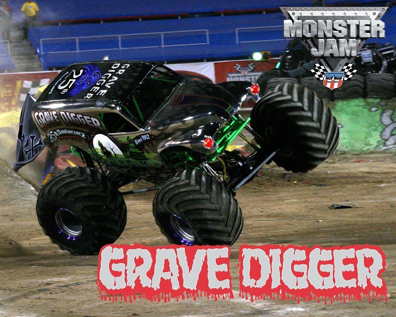 Cars Monster Truck Grave Digger Jam Wallpaper Monster Trucks Trucks Monster Truck Grave Digger