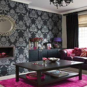 Purple Black And Silver Living Room Ideas Silver Living Room Black And Silver Living Room Black Living Room