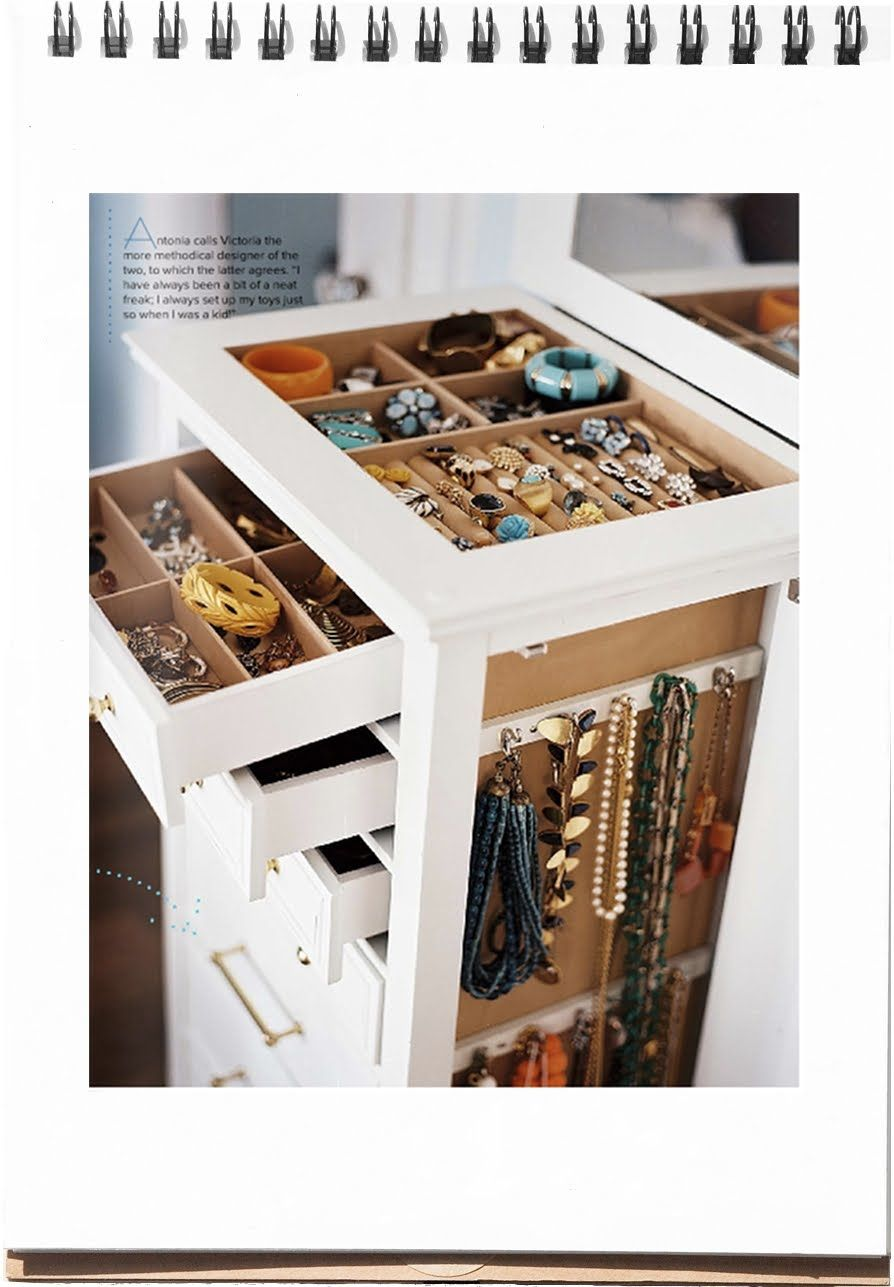 Joyer A Organizador Habitaci N Bing Im Genes Diy Pinterest  # Muebles Para Joyeria