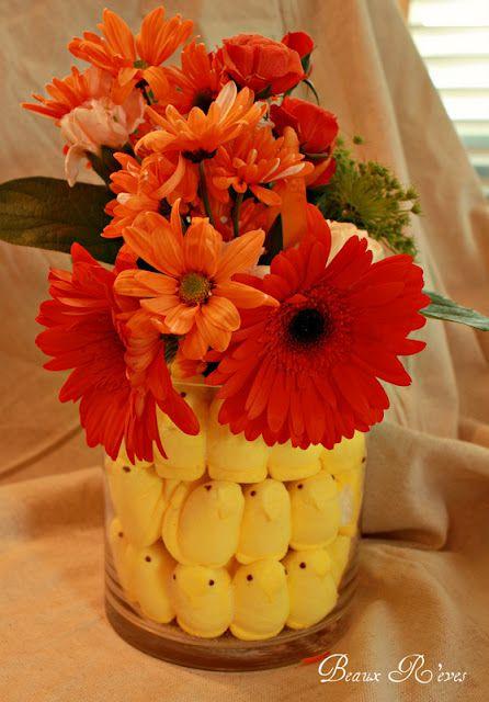 peeps floral arrangement