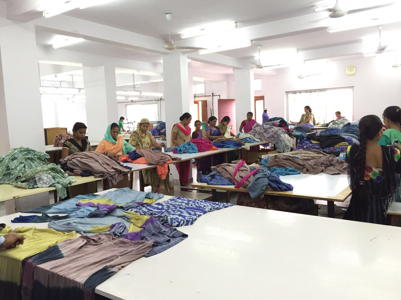 The Nila Rubia workshop floor #EthicalFashion