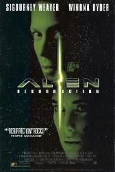 Alien Resurrection movie poster [Sigourney Weaver & Winona Ryder] Only $9.99