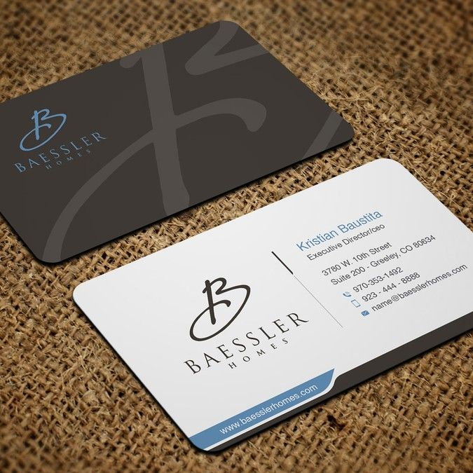 Home Builder's Business Cards by artomoro.designs | the Logo ...