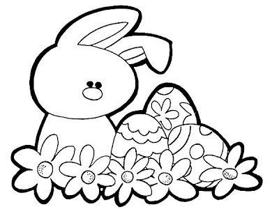 Desenhos De Coelho Da Pascoa Para Imprimir E Colorir Coelhinho